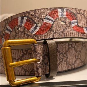 Gucci belt king snake print size 95/38